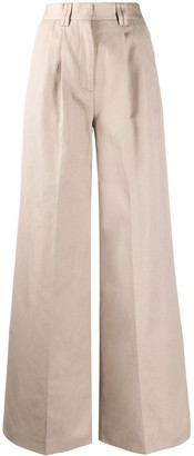 MSGM Tailored Wide-Leg Trousers