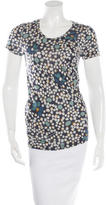 Burberry Polka Dot Short Sleeve T-Shirt