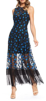Dress the Population Selene Floral Dress