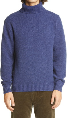 Beams Wool & Cashmere Turtleneck Sweater
