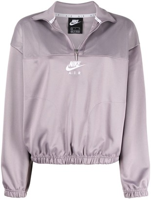 Nike Logo-Print Zip-Up Jacket
