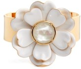 Kate Spade Women's Bright Blossom Flower Cuff