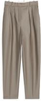 Arket Wool Flannel Trousers