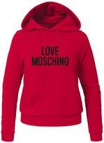 Love Moschino Womens Printed Pullover Hoodies