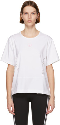 adidas by Stella McCartney White TruePurpose Yoga Sport Top
