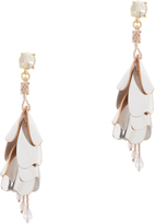 Oscar de la Renta Waterfall Opaque Earrings