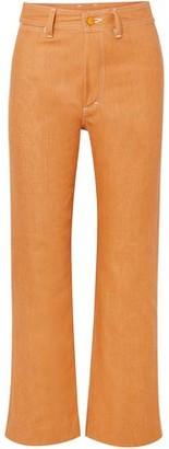 Simon Miller W012 High-rise Straight-leg Jeans