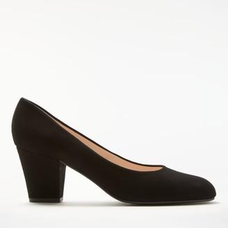 John Lewis & Partners Alma Block Heel Court Shoes