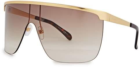 Givenchy Oversized Wrap-around Sunglasses