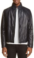 BOSS Mirkan Leather Moto Jacket