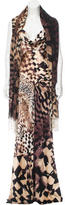 Roberto Cavalli Silk Printed Dress