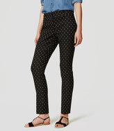 LOFT Tall Diamond Dot Essential Skinny Ankle Pants in Julie Fit