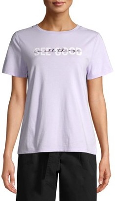 Time and Tru Women's Graphic T-Shirt
