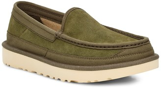 UGG Dex Moc Toe Water Resistant Leather Slipper