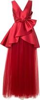 Alberta Ferretti satin and tulle gown