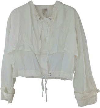 Edun White Silk Jacket for Women