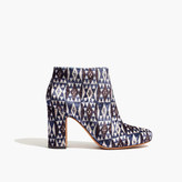 Madewell The Nealy Boot in Print Velvet