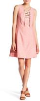 Kensie Linen-Blend Shift Dress