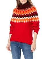 Find. find. Women's PHDB1079 Turtleneck Christmas Sweater