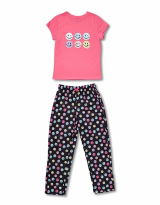 Joe Boxer Big Girl's LICKY/Winky Tee/Pant Set Sleepwear