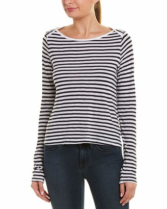 Splendid Women's French Stripe Ls