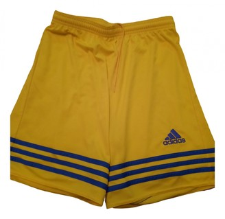adidas Yellow Synthetic Shorts
