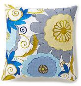 Trina Turk Trellis Floral Garden Square Pillow