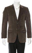 Gucci Corduroy Two-Button Blazer