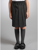 John Lewis Girls' Pleated School Skirt, Grey