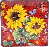 Certified International Sunflower Meadow Square Platter