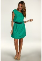 Lilly Pulitzer Laney Dress (Bright Navy A Little Unbuttoned) - Apparel