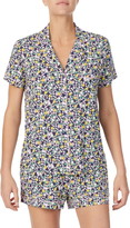 Kate Spade floral jersey short pajamas