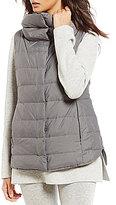 Eileen Fisher Stand Collar Vest