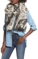 Sole Society Women's Floral Scarf