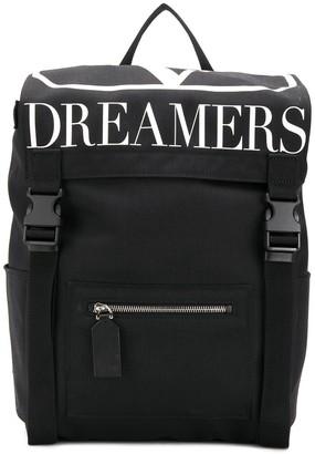 Valentino Garavano VLOGO Dreamers nylon backpack