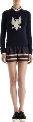 Sea Banded Stripe Shorts