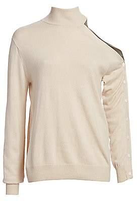 Bailey 44 Women's Kitty Open Shoulder Wool & Cashmere-Blend Turtleneck Sweater