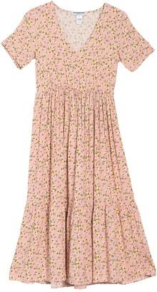 Cotton Emporium Floral Tiered Maxi Dress