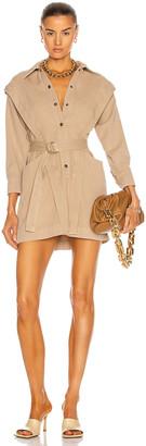 NOAM Jeanne Dress in Dune   FWRD
