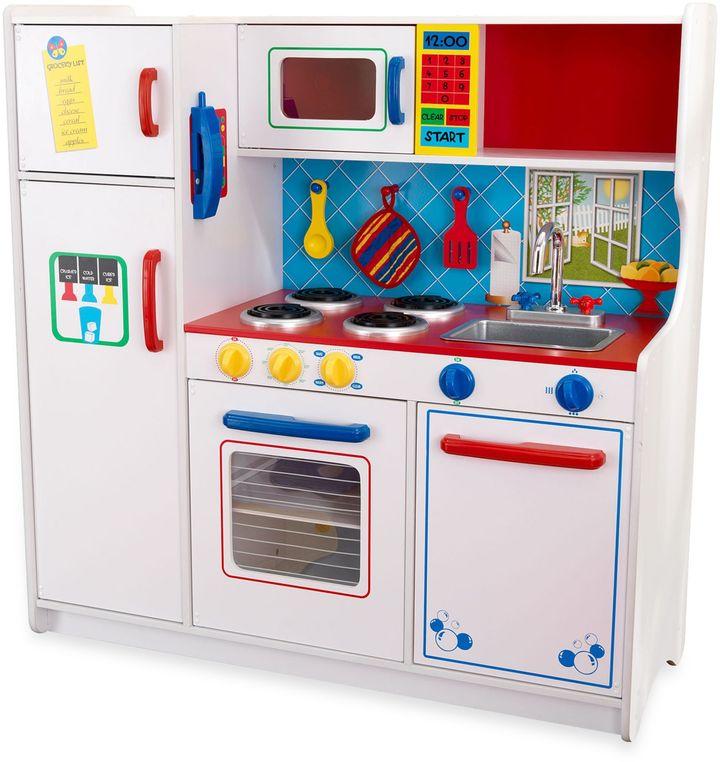 Kid Kraft Deluxe Let's Cook Kitchen