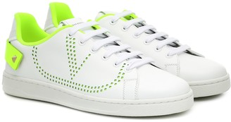 Valentino BACKNET leather sneakers