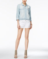 Joe's Jeans Eyelet Denim Shorts