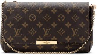 Louis Vuitton Favorite Monogram MM Brown Lining