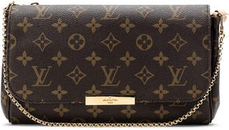 Louis Vuitton Favorite Monogram MM Burgundy Lining