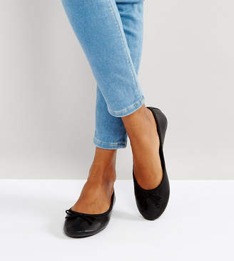 New Look Ballerina Flat-Black
