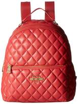 Love Moschino Fashion Quilted Backpack
