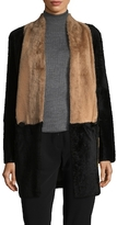 Max Mara Stripe Pocket Wool Coat