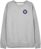 Soulland Uffe Grey Cotton Sweatshirt