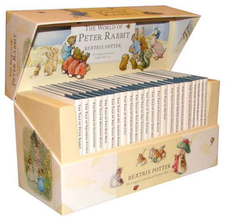 Penguin Random House The Original Peter Rabbit By Beatrix Potter 23-Book Presentation Box