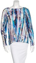 Rebecca Minkoff Silk Printed Top w/ Tags